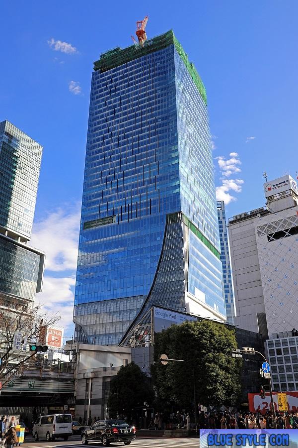 渋谷駅街区東棟新築工事