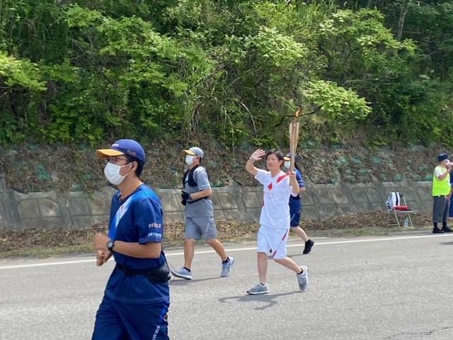 東京オリンピック 聖火リレー